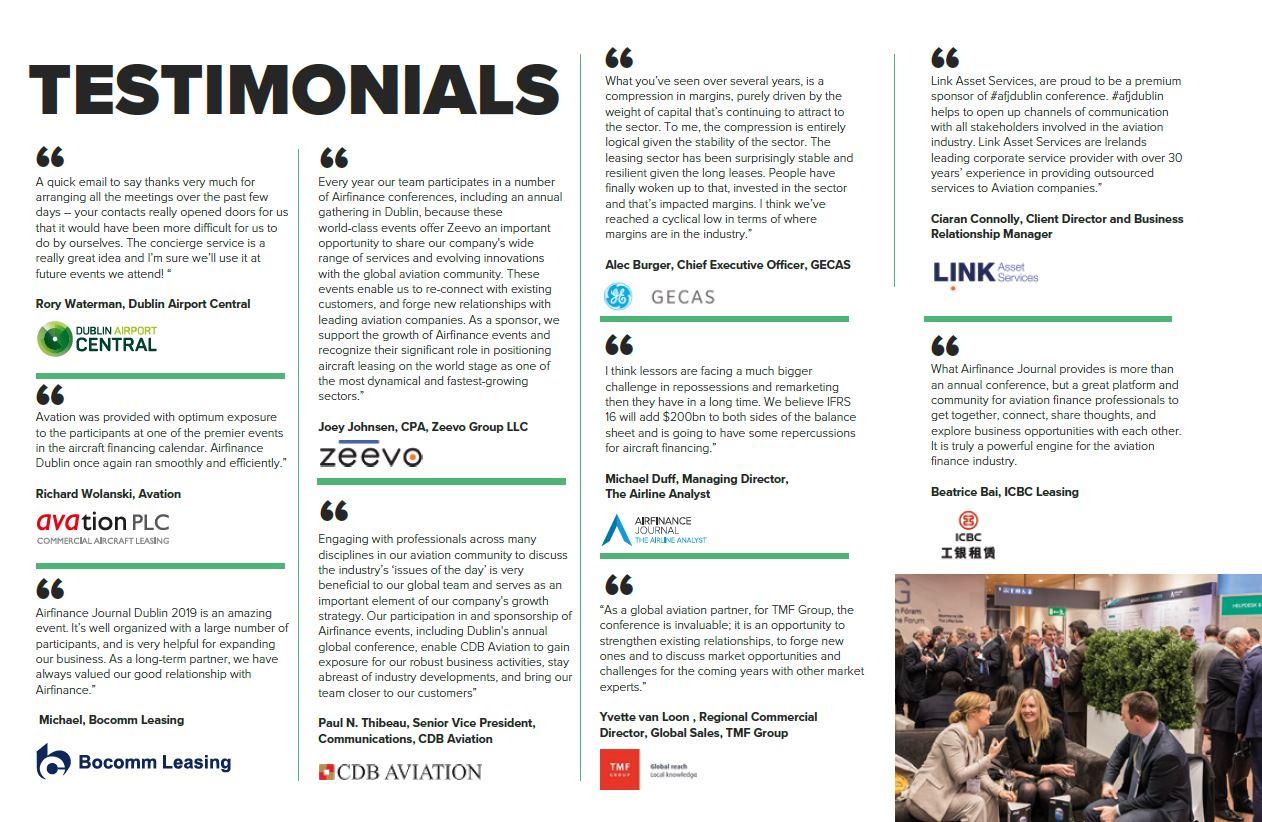 Airfinance Journal Dublin 2020 | AFJ Events